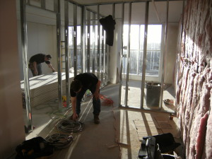 New Drywall Partitions