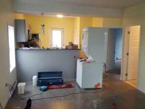 finishing kitchen