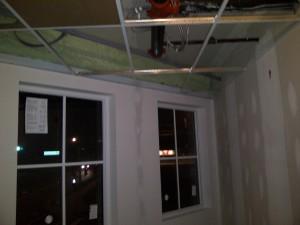 Ceilings Being Installed