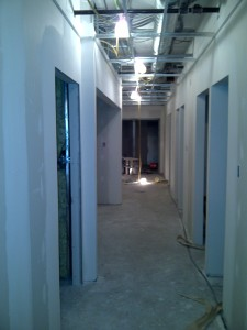 Corridor To Reception From Operatories