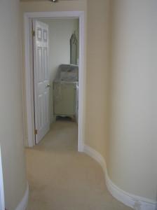hallway finished