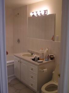 washroom completed